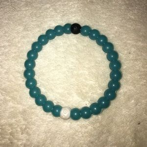 Lokai blue bracelet